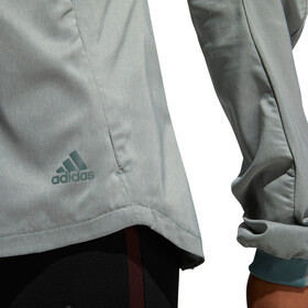adidas Supernova Confident 3 Season Jacket Women Raw Green/Colored Heather